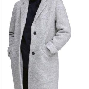 Grey Oversized Fit Jacket